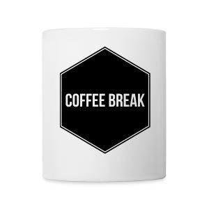 Coffee Break logo - Coffee/Tea Mug
