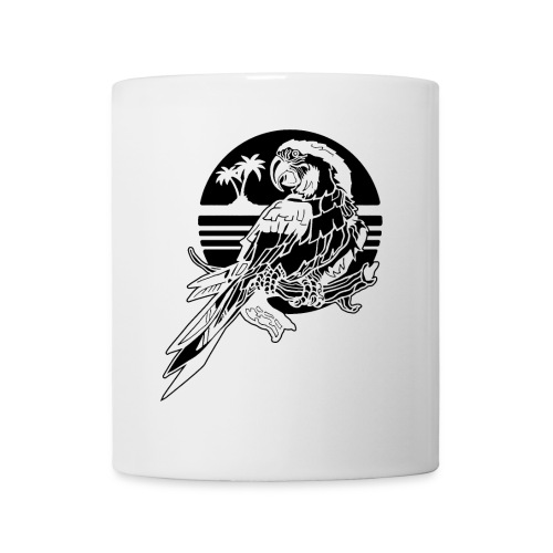 Tropical Parrot - Coffee/Tea Mug
