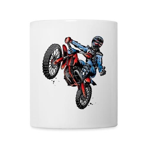 Motocross Dirt Bike Stunt Rider - Coffee/Tea Mug