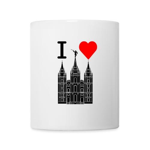 I (Heart) the Temple - Coffee/Tea Mug