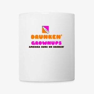 DRUNKEN GROWNUPS - Coffee/Tea Mug