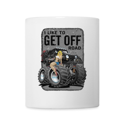I like to get off road - Coffee/Tea Mug