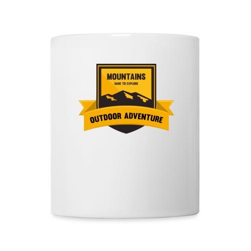 Mountains Dare to explore T-shirt - Coffee/Tea Mug