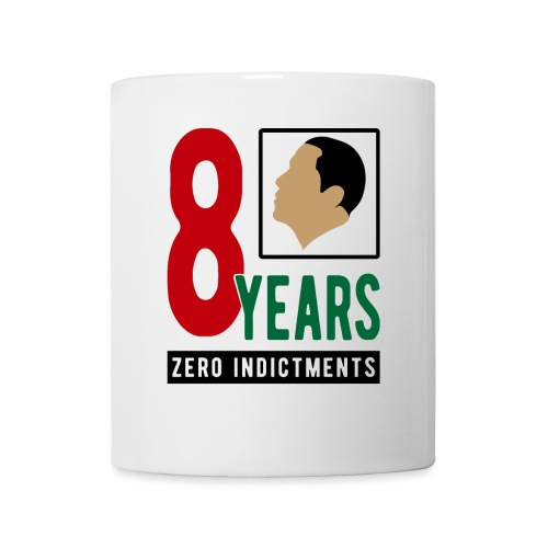 Obama Zero Indictments - Coffee/Tea Mug