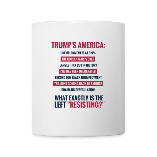 Resist what? - Coffee/Tea Mug