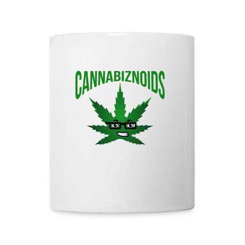 Cannabiznoids Logo with Text - Coffee/Tea Mug