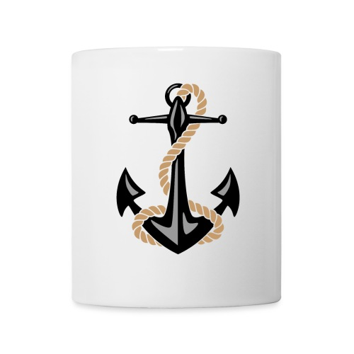 Classic Nautical Anchor and Rope Design - Coffee/Tea Mug