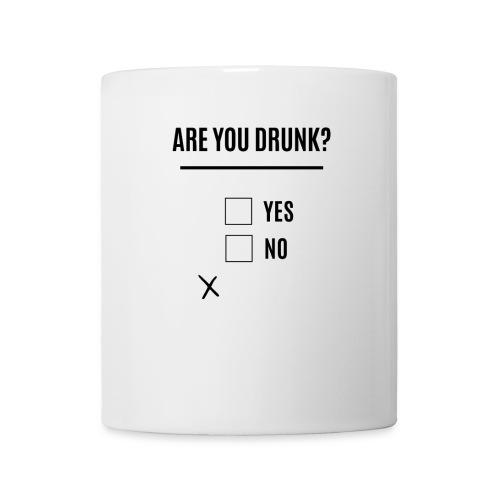 Beer, Are you Drunk? Oktoberfest, black - Coffee/Tea Mug