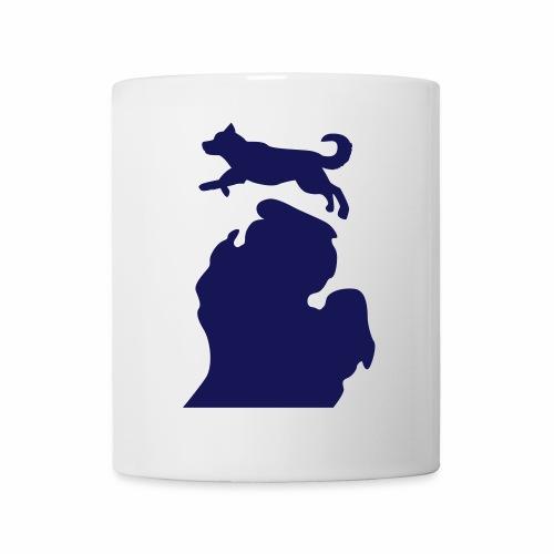 Bark Michigan Husky womens - Michigan Tech Colors - Coffee/Tea Mug