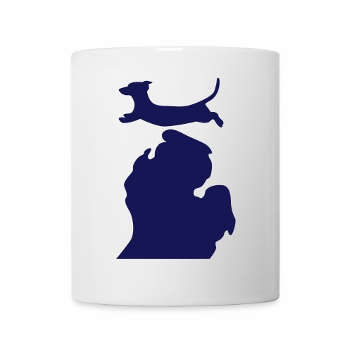 Dachshund Bark Michigan womens shirt - Coffee/Tea Mug