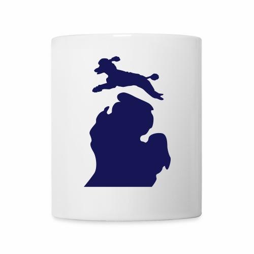 Bark Michigan poodle - Coffee/Tea Mug