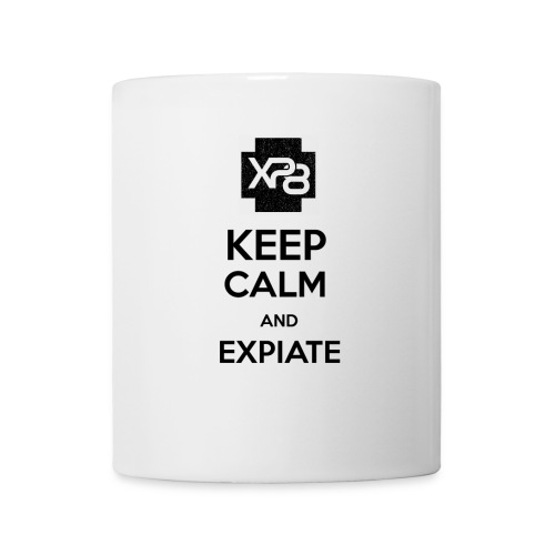 Keep Calm XP8 Black - Coffee/Tea Mug