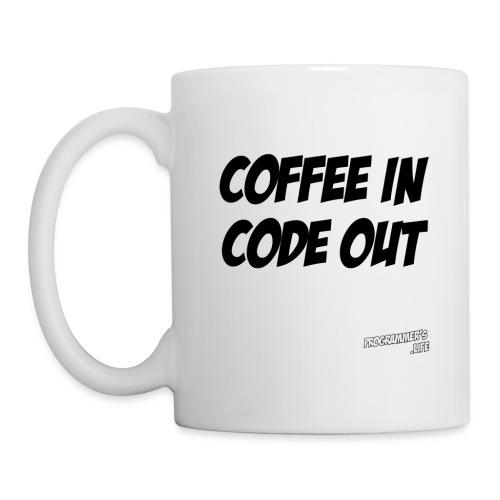 Coffee in (black) - Coffee/Tea Mug