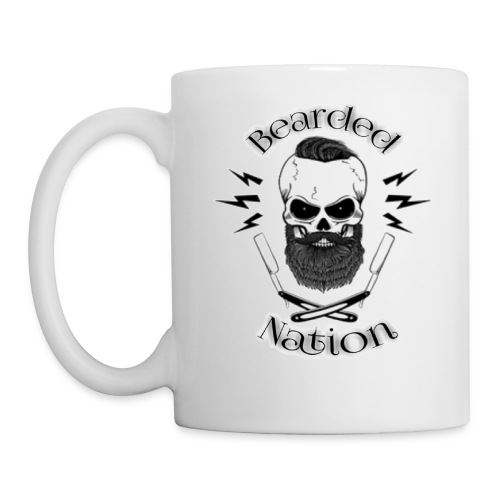 Bearded Nation Logo - Coffee/Tea Mug