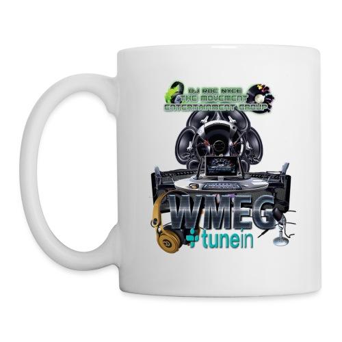 WMEG internet Radio logo - Coffee/Tea Mug