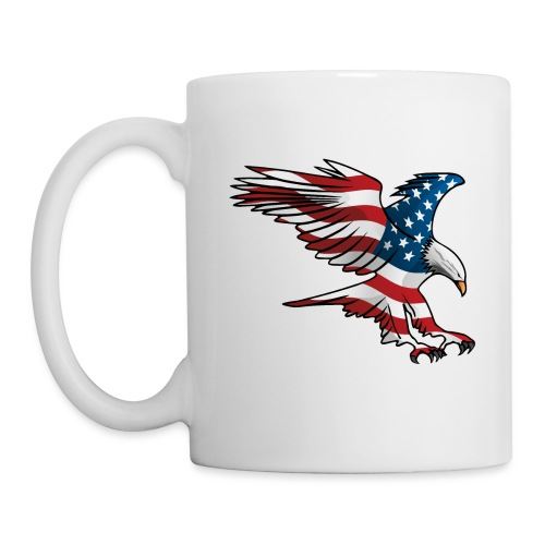 Patriotic American Eagle - Coffee/Tea Mug