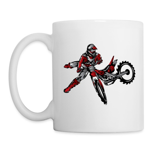 Freestyle Dirt Biker - Coffee/Tea Mug