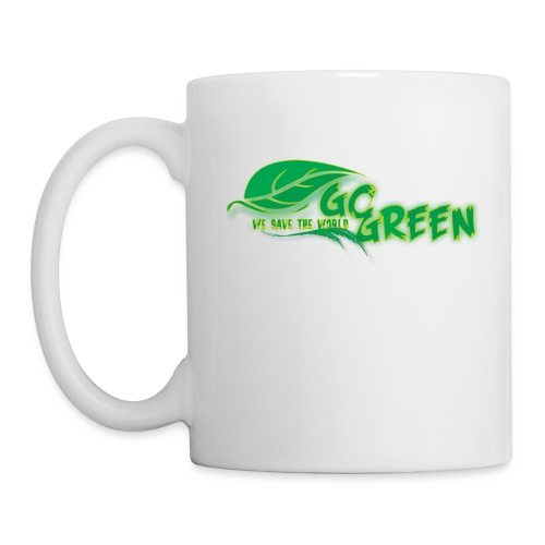go green - Coffee/Tea Mug