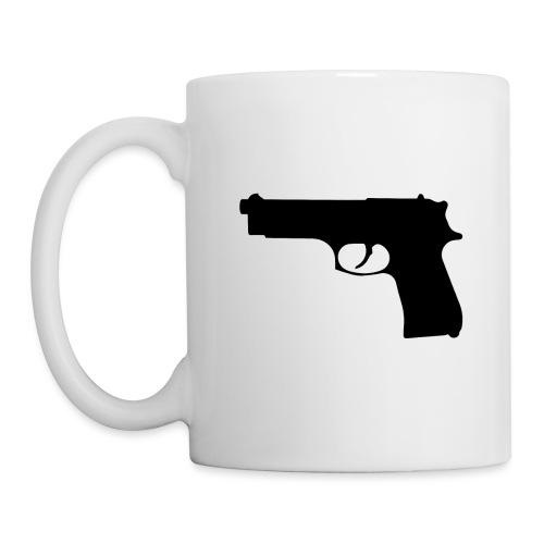 Semi-automatic Handgun Silhouette - Coffee/Tea Mug