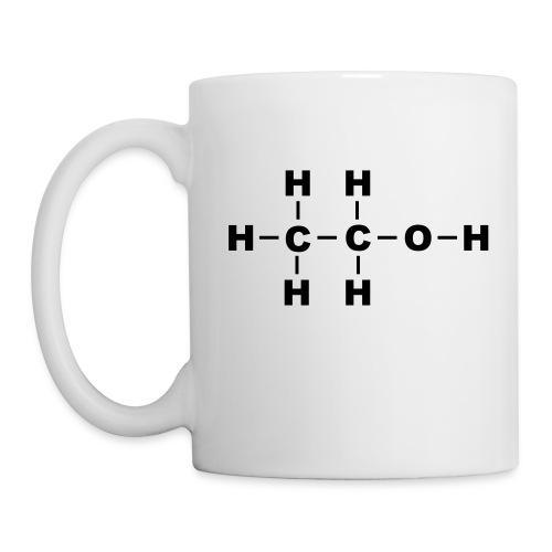 Alcohol Molecule - Coffee/Tea Mug