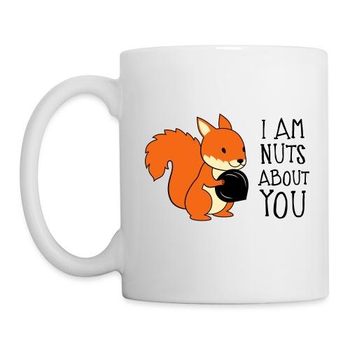 I am nuts about you - Coffee/Tea Mug