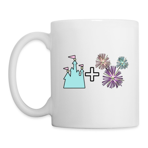 Castle & Fireworks - Coffee/Tea Mug