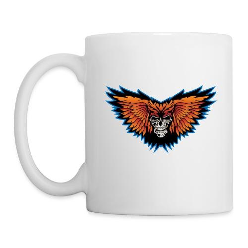 Winged Skull Illustration - Coffee/Tea Mug