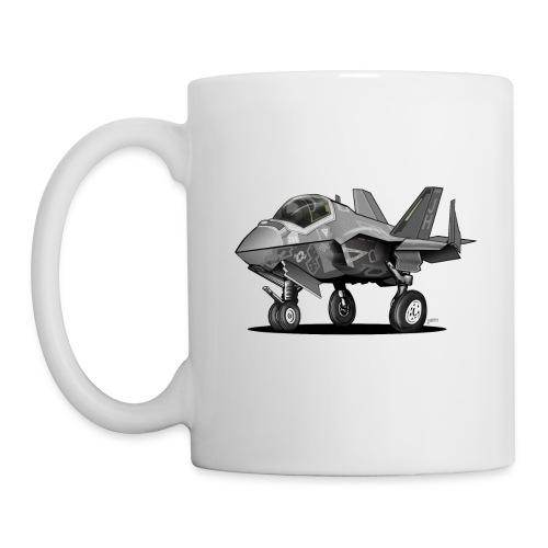 F-35C Lightning II Joint Strike Fighter Il Cartoon - Coffee/Tea Mug