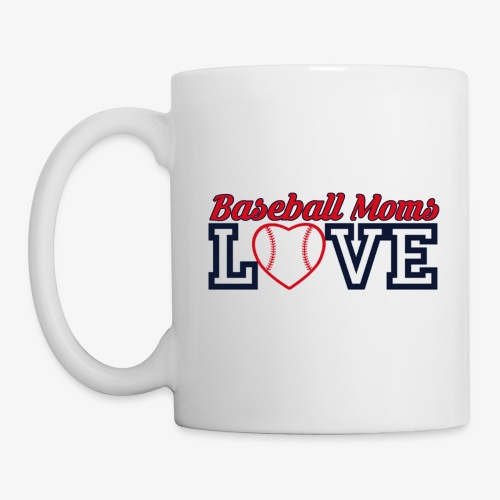 baseball mom love - Coffee/Tea Mug