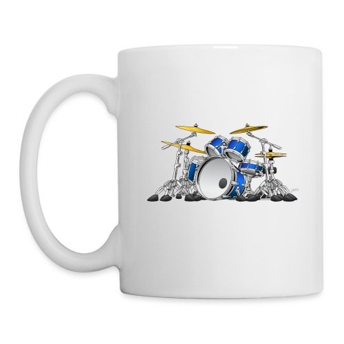 Drum Set Cartoon - Coffee/Tea Mug