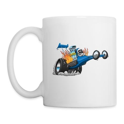Top Fuel Dragster Cartoon - Coffee/Tea Mug