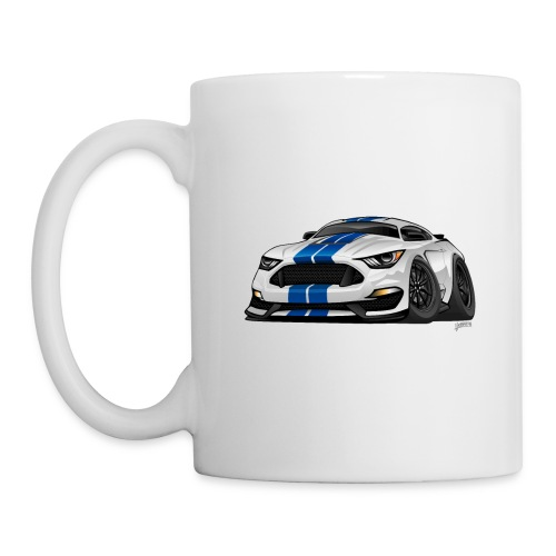 Modern American Muscle Car Cartoon - Coffee/Tea Mug