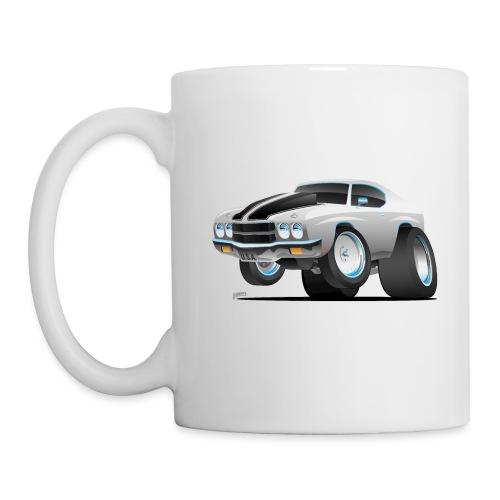 Classic 70's American Muscle Car Cartoon - Coffee/Tea Mug