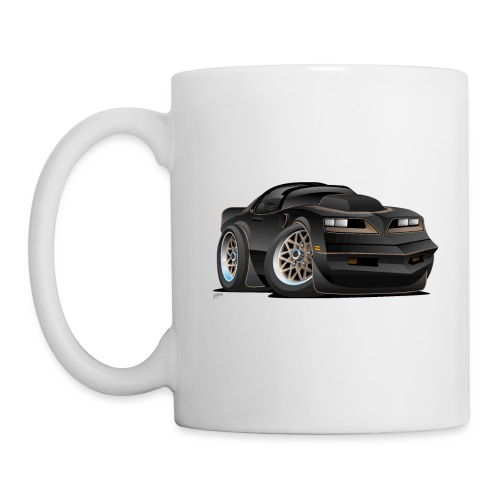 Seventies Classic Muscle Car Cartoon - Coffee/Tea Mug