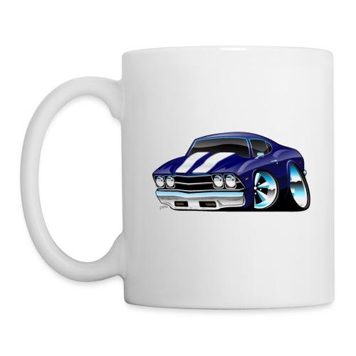 Classic American Muscle Car Cartoon - Coffee/Tea Mug