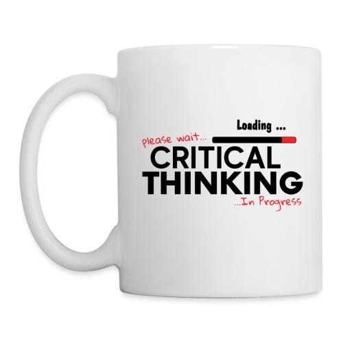 Critical Thinking in Progress 1 - Coffee/Tea Mug