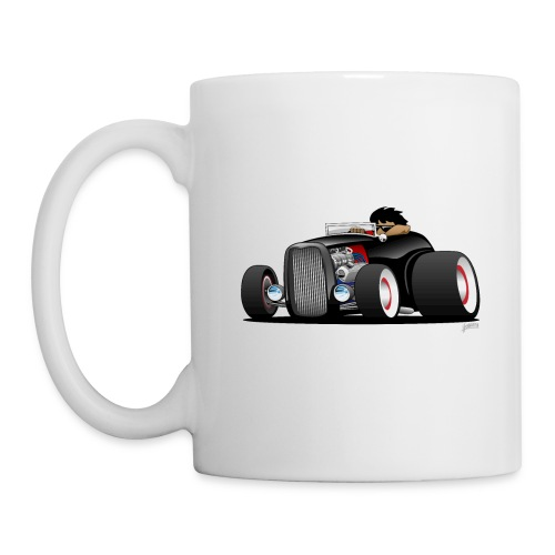 Classic Street Rod Hi Boy Roadster Cartoon - Coffee/Tea Mug