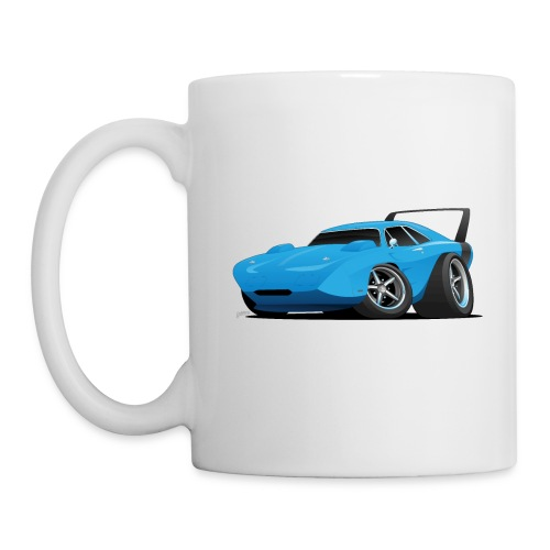 Classic American Winged Muscle Car Hot Rod - Coffee/Tea Mug