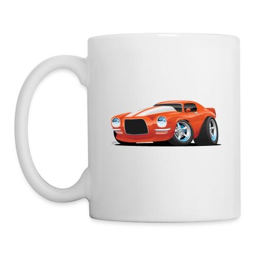 Classic Seventies Muscle Car Cartoon - Coffee/Tea Mug