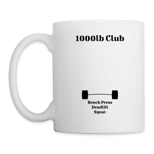 1000lb Club - Coffee/Tea Mug