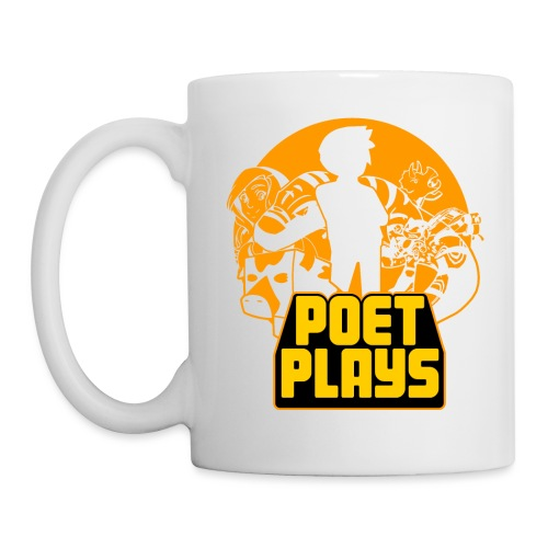 Poet Plays RETRO - Coffee/Tea Mug