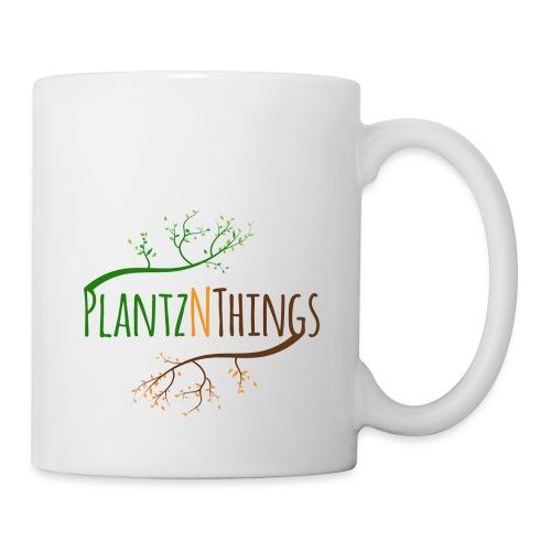 Get the Day Growing (Blue Mug) - Coffee/Tea Mug