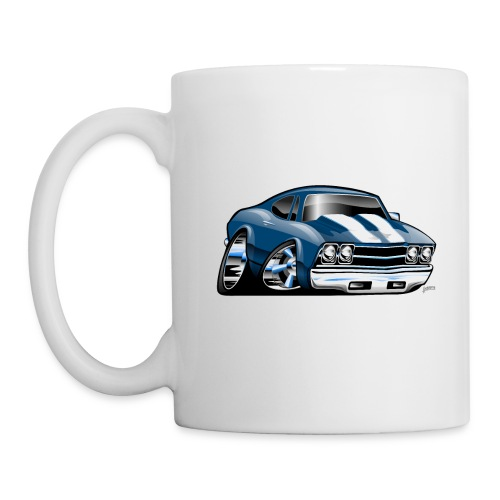 69 Muscle Car Cartoon - Coffee/Tea Mug