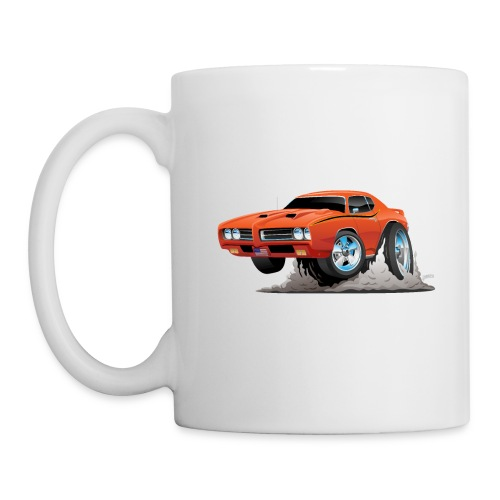 Classic American Muscle Car Cartoon - Coffee/Tea Mug