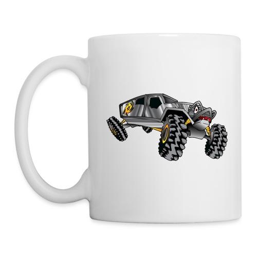 Rock Crawling Monster Truck Silver - Coffee/Tea Mug