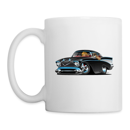 Classic hot rod fifties muscle car - Coffee/Tea Mug