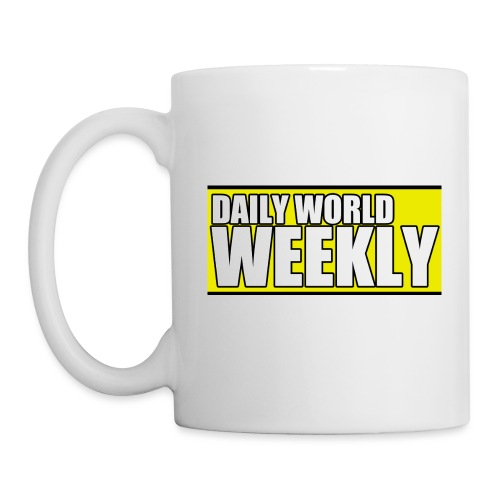 daily world weekly banner short - Coffee/Tea Mug