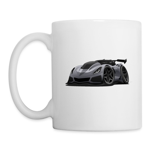 Modern American Sports Car Cartoon - Coffee/Tea Mug