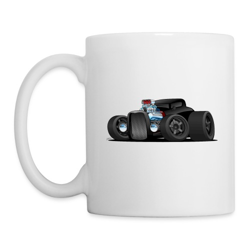 Custom Black Hot Rod Coupe - Coffee/Tea Mug