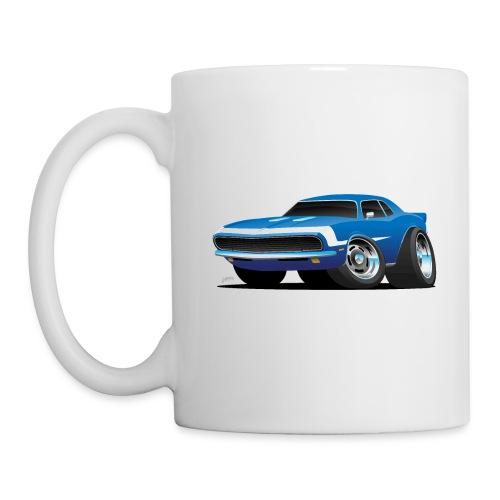 Classic Sixties Muscle Car Hot Rod Cartoon - Coffee/Tea Mug